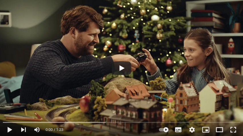 "Märklin Weihnachtsaktion ""klein sein"""
