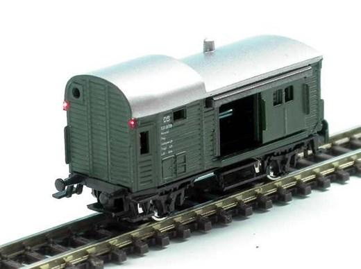 High Tech Modellbahnen 3001 - Güterzuggepäckwaggon