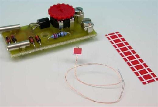 High Tech Modellbahnen - 5051 Schutzhaltsignal rot