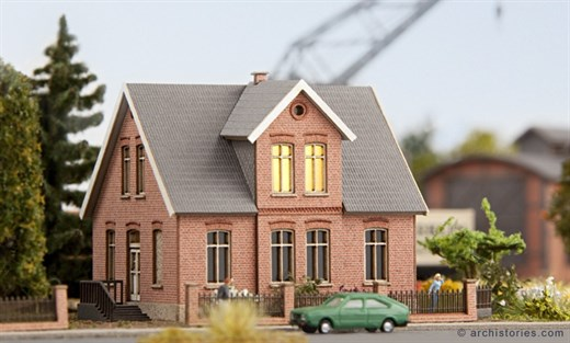 ArchiStories 402111 - Eisenbahnerhaus Frye