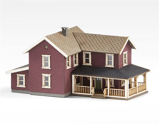Archistories 405201 Turn of The Century House Ruby