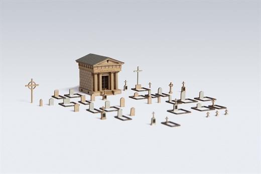 Archistories 408181 - Friedhof Im Mariengrund