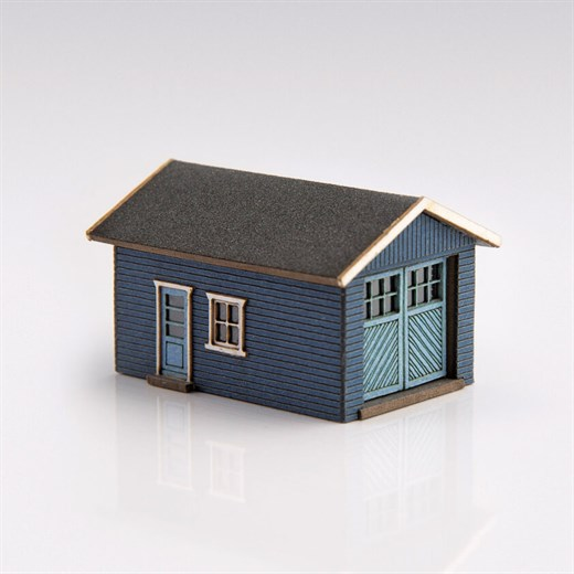 ArchiStories 426070-DB - Single Garage Kit - Dark