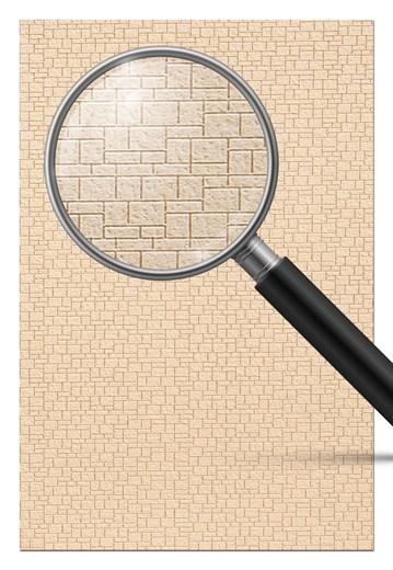 ArchiStories 806181 - Mauerwerkplatte sandfarben,