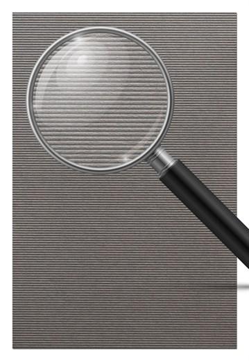 ArchiStories 807181 - Wellplatte dunkelgrau, 1,4mm