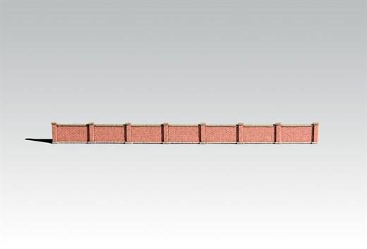 Archistories 812191 - Niedrige Grenzmauer [Z]