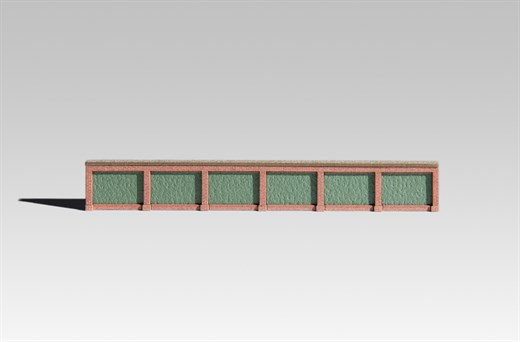 Archistories 813191 - Kassettenmauer AW Lingen