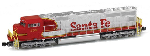 AZL 61011-3 - SD75M ATSF Red Warbonnet #208