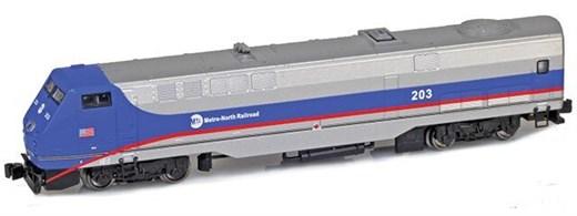 AZL 63506-2 GE P42 Commuter Railroad #208