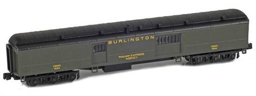 AZL 71618-2 BURLINGTON Baggage REA CB&Q #1564 Pull