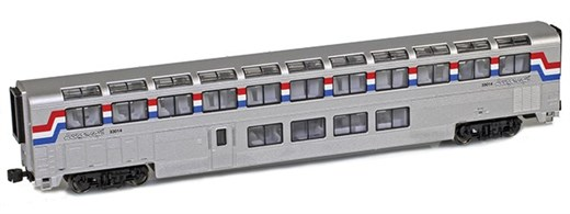 AZL 72004-1 Superliner | Lounge Amtrak Phase III #