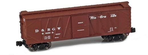 AZL 903111-1 40 D&RGW Outside Braced Boxcar #6620