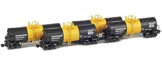 AZL 903818-1 17,600 Gallon Tank Cars | Procor | Mo