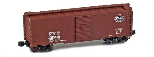 AZL 904311-1 NYC 40 AAR Boxcar #157239