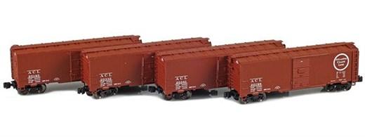 AZL 914301-1 ACL 40 AAR Boxcar | 4-Car Set