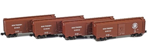 AZL 914312-1 SOU 40 AAR Boxcar | 4-Car Set