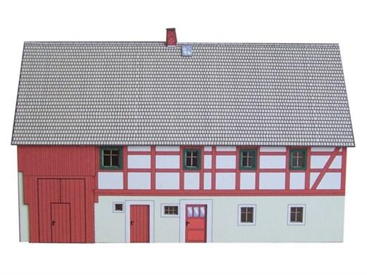 04-14-Z - Fachwerkhaus Wohnstallhaus - Pretzschend