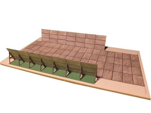 10-10-1-Z - DDR - Futtersilo aus Betonplatten