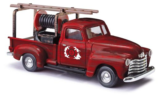 Busch 48238 - Chevrolet Pick-up Firedepart