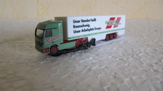 carlights Herpa Spedition Wandt LKW mit SMD Bele