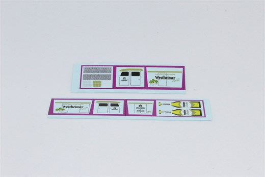 002 - Decals für 5418403 Bausatz Westheimer Lösch