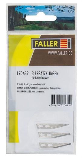 Faller 170682.00 - 3 Ersatzklingen für Bastelmes