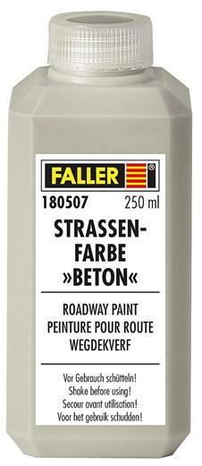 Faller 180507 - Straßenfarbe Beton, 250 ml