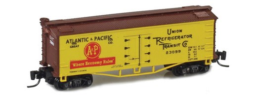 Father Nature FN-5015 A&P 33 Wood Side Reefer URT