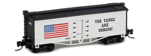 Father Nature FN-5016 Yanks 33 Wood Side Reefer #