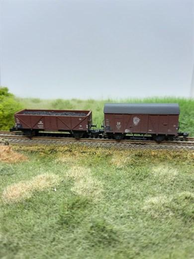 Freudenreich 49.014.02 - Güterwagen-Set DR