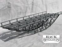 HACK BRÜCKEN BZ18-2 43152 - Fischbauchbrücke 18 cm