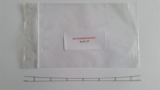 HOS OL 07 - Fahrdraht Neusilber 0,3 blank, 165-175