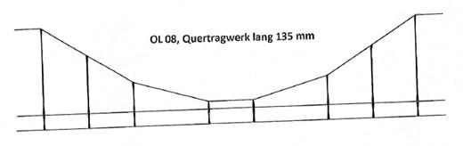 HOS OL 08 - Quertraverse Tragwerk für Turmmast, Ne