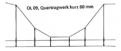 HOS OL 09 - Quertraverse Tragwerk für Turmmast, Ne