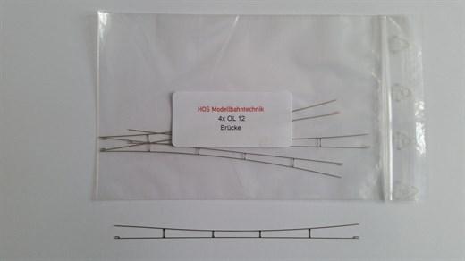 HOS OL 12 - Fahrdraht Neusilber 0,3 blank, 125 mm