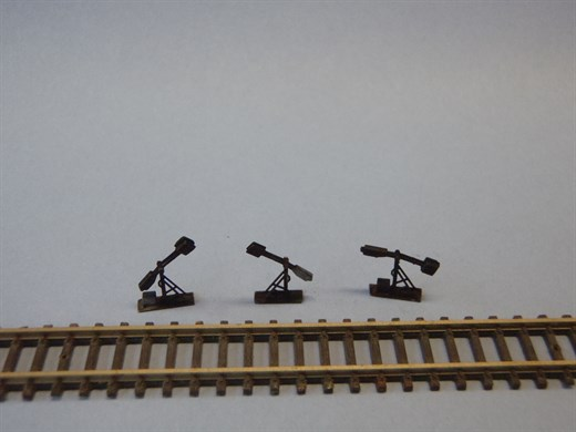 HOS SW-01 - Spannwerk mit feststehendem Hebel, maß