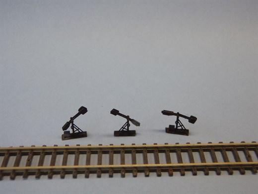 HOS SW-02 - Spannwerk mit beweglichem Hebel, maßst