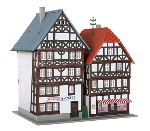 Kibri 36404 - Z Fachwerkhauser Fritzlar, 2 Stück
