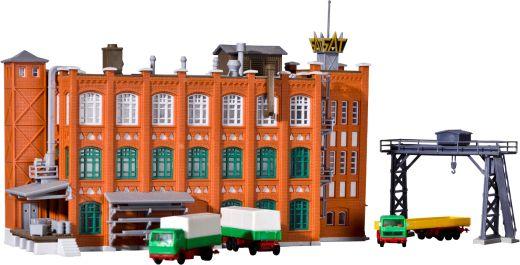 Kibri 36762 - Z Fabrik aus der Gruenderzeit mit Zu