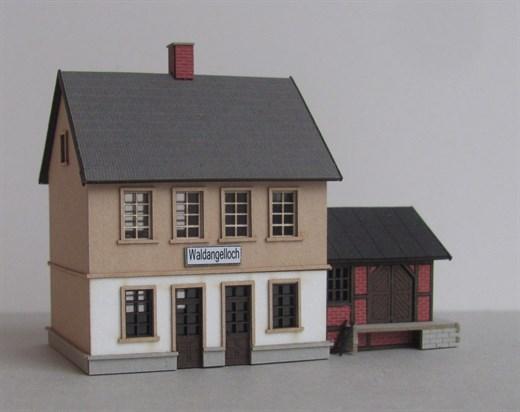 Laffont Z1301 - Bahnhof Waldangelloch