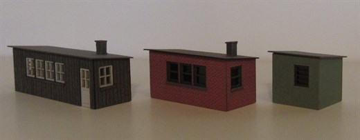 Laffont Z1401 - Bw-Buden Ziegel-, Holz- und Wellbl