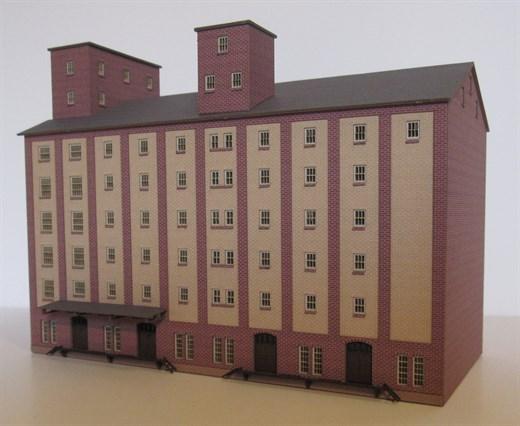Laffont Z1801 - Hafenspeicher Ziegelfassade 2-farb