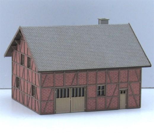 Laffont Z502 - Fachwerk-Bauernhaus in Ziegelausfüh