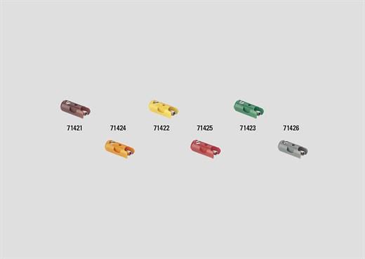 Märklin 71421 - Muffe braun (Inh.10 Stück)
