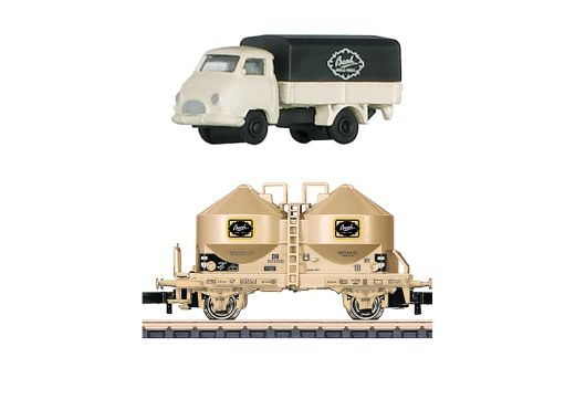 Märklin 80029 - Märklin Z Museumswagen-Set 2018