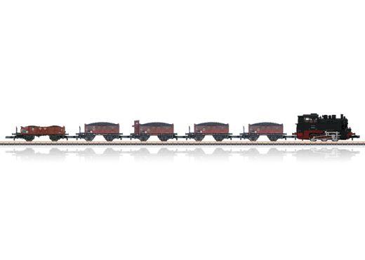 Märklin 81352 - Güterzug Kohletransport, BR 80