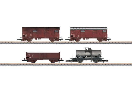 Märklin 82041 - Wagen-Set, 4 Wagen, DR, Reichsbahn