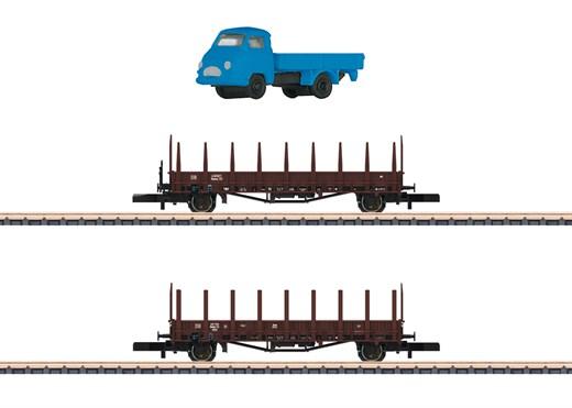 Märklin 82132 - Rungenwagen-Set Rmms 33
