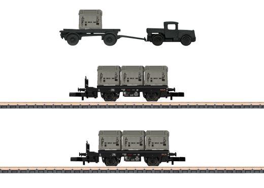 Märklin 82329 - Behältertragwagen-Set DB