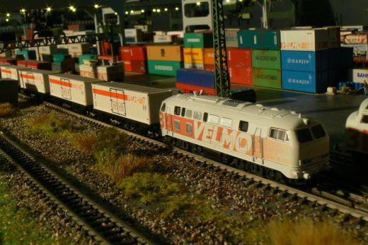 Märklin 82361.006 - Z-Containerwagen Velmo, Prod